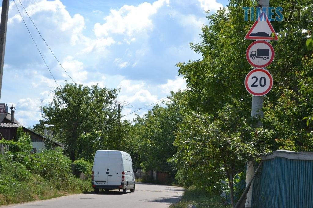 DSC 0197 1024x683 - Дорожні знаки, лежачі поліцейські та світлофори: як планують обмежити рух в провулку, де молоковоз насмерть збив маленького житомирянина