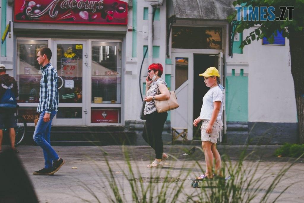 DSC 0453 1024x684 - Спекотний понеділок у Житомирі (ФОТО)