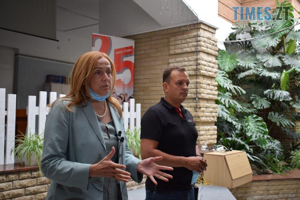 DSC 0487 1024x684 - Золотий стандарт інфекційної безпеки в школі: Людмила Зубко презентувала у Житомирі проєкт «Безпечна школа»