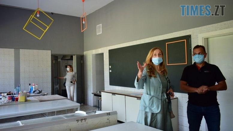DSC 0546 777x437 - Золотий стандарт інфекційної безпеки в школі: Людмила Зубко презентувала у Житомирі проєкт «Безпечна школа»