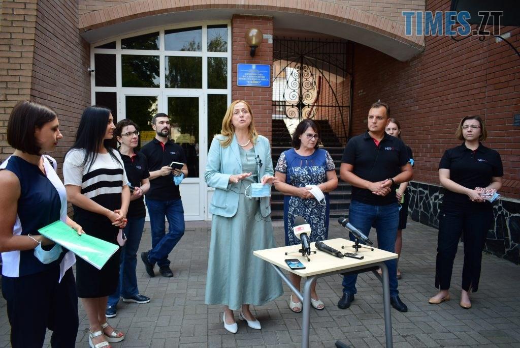 DSC 0570 1024x684 - Золотий стандарт інфекційної безпеки в школі: Людмила Зубко презентувала у Житомирі проєкт «Безпечна школа»