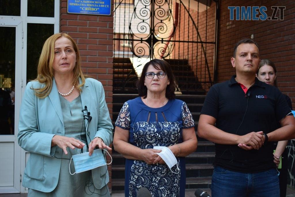 DSC 0573 1024x684 - Золотий стандарт інфекційної безпеки в школі: Людмила Зубко презентувала у Житомирі проєкт «Безпечна школа»