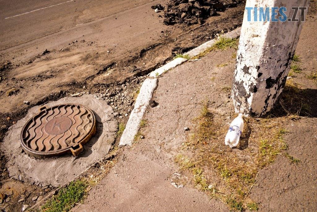 DSC 0648 1024x684 - У Житомирі готуються до завершення ремонту асфальту на Чуднівському мосту (ФОТО)