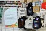 DSC 2237 150x100 - У Житомирі в гіпермаркеті Ашан влаштували акцію відмови від пластику, знизили ціни на еко торбинки та пригощають солоденьким (ФОТО)