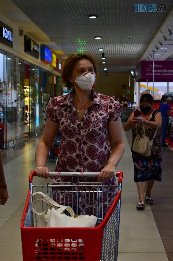 DSC 2251 681x1024 - У Житомирі в гіпермаркеті Ашан влаштували акцію відмови від пластику, знизили ціни на еко торбинки та пригощають солоденьким (ФОТО)