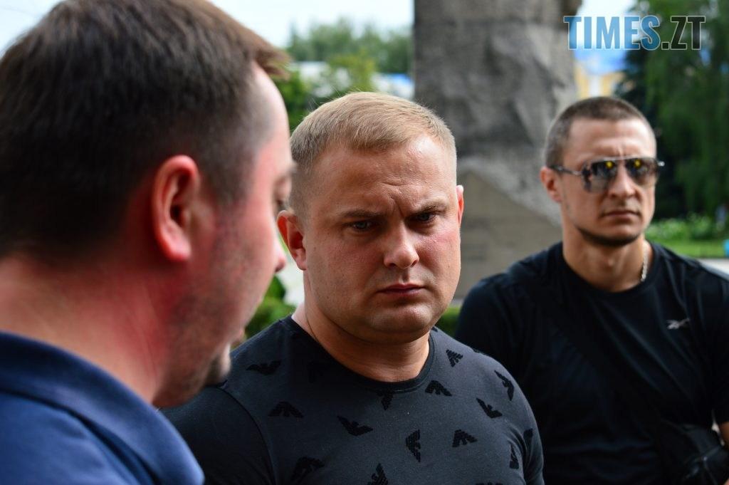 DSC 2288 1024x681 - Скандал: фанати ФК «Полісся» прийшли під стіни Житомирської ОДА вимагати продовження договору оренди тренувальної бази (ФОТО-ВІДЕО)