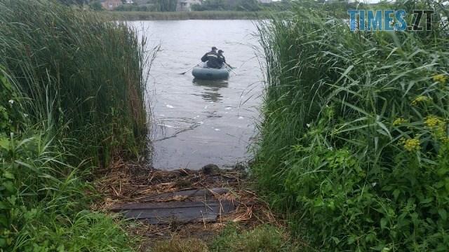 IMG 4654 - У ставку в Черняхові виявили тіло мертвої жінки