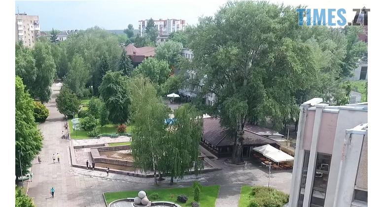 Screenshot 2 23 - У Житомирі на Новому бульварі планують видалити більше 50 дерев