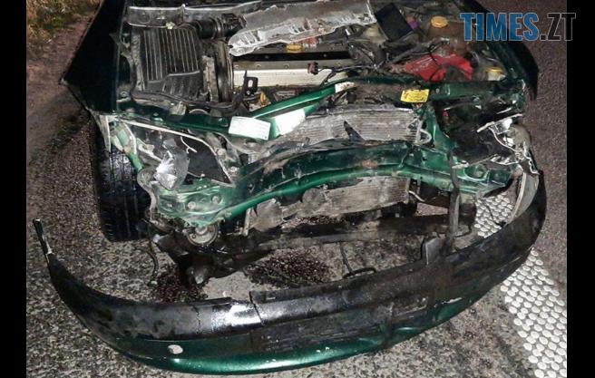 Screenshot 4 - На Житомирщині водій розбив автівку об невідому істоту, яка раптово вибігла на дорогу (ФОТО)