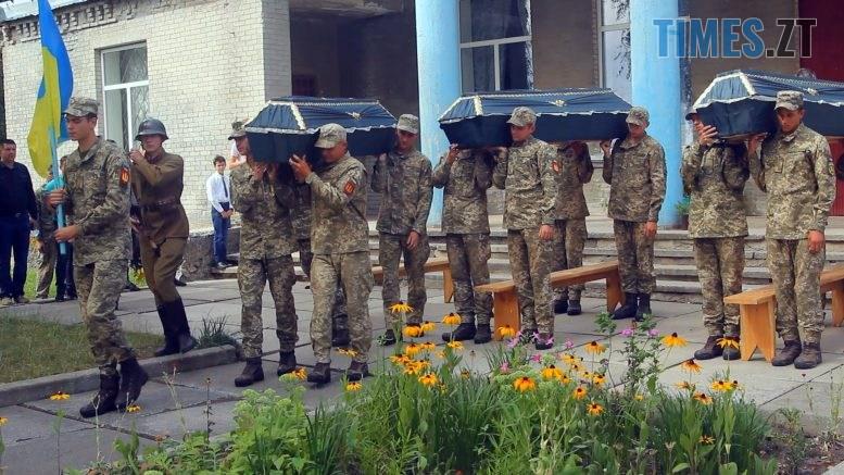 Still1212 00001 5 777x437 - 30 воїнів перепоховали у Семенівці поблизу Бердичева (ВІДЕО)
