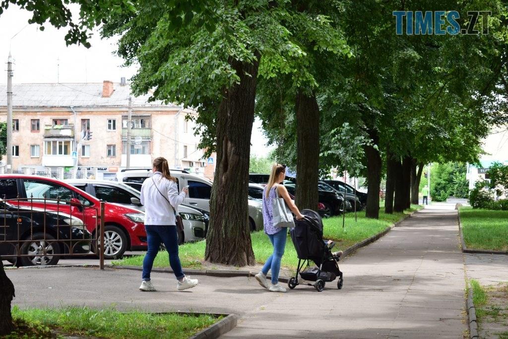 c02f7303 7270 4ab7 a19f 4000799475f4 1024x684 - Повна рожа та шеврони: в Житомирі пішохідний перехід оздобили українським орнаментом (ФОТО)