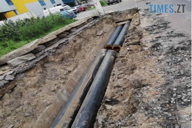 skrynshot - У Житомирі тривають роботи по заміні теплових мереж (ФОТО)
