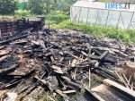 vriatovano budynok ta teplytsiu 150x113 - У райцентрі Житомирської області надзвичайники врятували приватну оселю від знищення вогнем