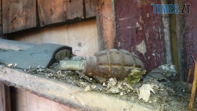 yzobrazhenye viber 2020 07 15 10 02 20 - Під час ремонту на горищі власного будинку жителі Малинщини знайшли гранату