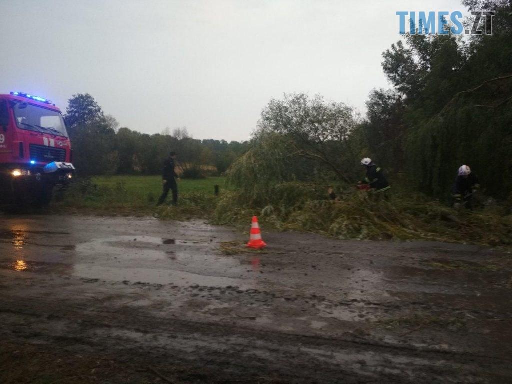 02 8 1024x768 - «Повалені дерева, місячна норма опадів та знеструмлені села»: на Житомирщині вирувала негода (ФОТО)