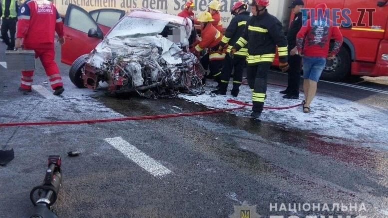 09 26 06 777x437 - У Житомирському районі моторошна ДТП, загинув водій іномарки (ФОТО)