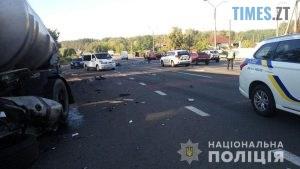 09 26 10 300x169 - У Житомирському районі моторошна ДТП, загинув водій іномарки (ФОТО)