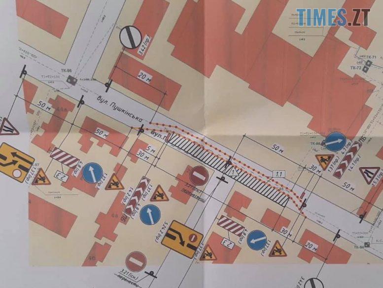 117158259 1013575502430015 1165018462970742500 n e1596619007252 - У Житомирі на три тижні перекрили дорогу біля обласної лікарні