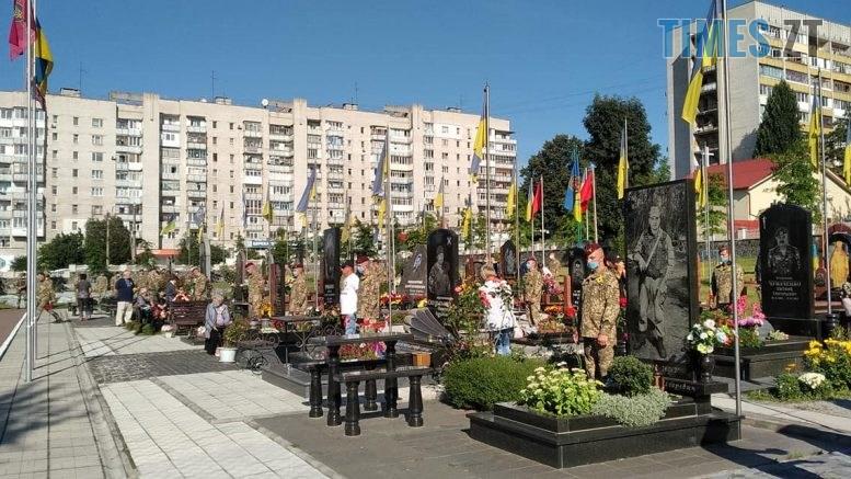 118651239 1643779102457404 8331850432408156621 o 777x437 - У Житомирі вшанували пам'ять захисників України, які віддали життя за її незалежність (ФОТО)