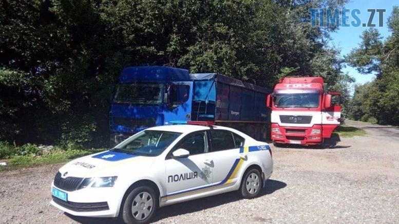 497079ae 777x437 - На Житомирщині затримали ще дві фури, які привезли сміття з міста Лева