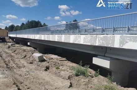 5afd6ee9c1cf856e6be1323b31d28668 preview w440 h290 - На Житомирщині відкрили новозбудований міст на кордоні з Білоруссю