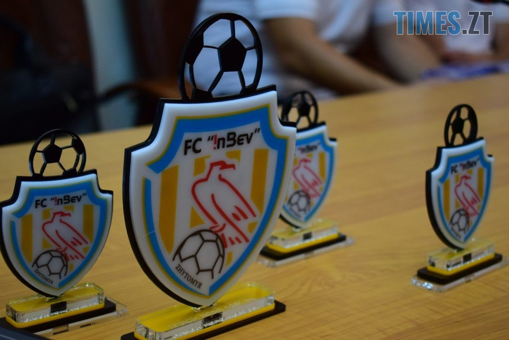 DSC 0068 1024x684 - «Ми покажемо вам медалі»: ФК «ІнБев Житомир» у новому складі готовий боротися у сезоні 2020-2021 рр.Favbet Екстра-Ліги (ФОТО)