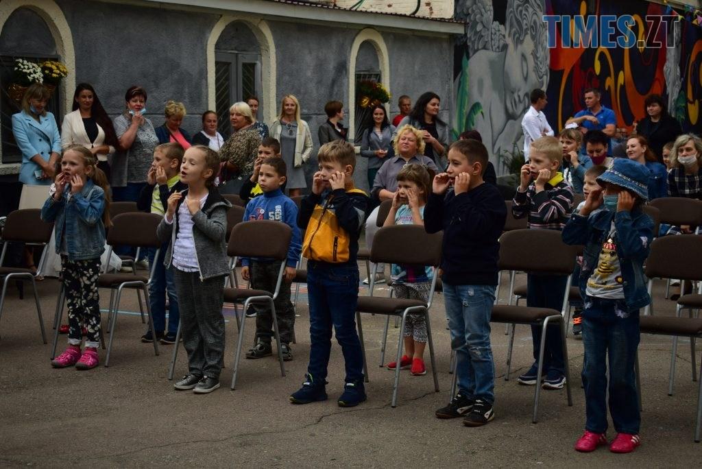 DSC 0178 1 1024x684 - У Житомирі в рамках акції «Першовересень» дітей-пільговиків зібрали до школи
