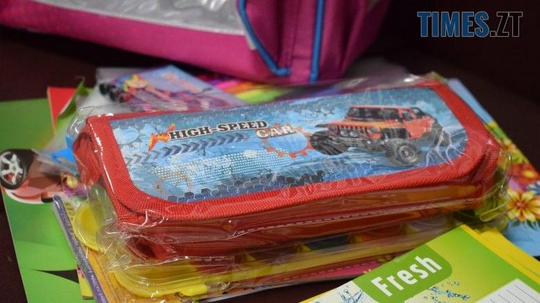 DSC 0198 777x437 - У Житомирі в рамках акції «Першовересень» дітей-пільговиків зібрали до школи