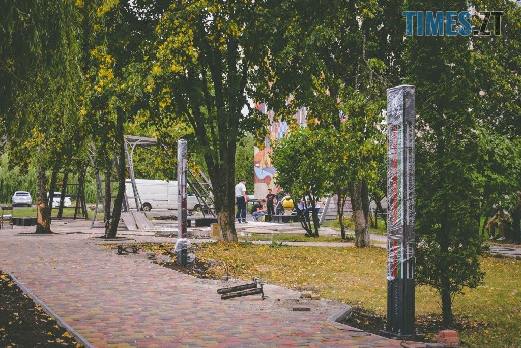 DSC 0228 1024x684 - Незабаром «Житомирську політехніку» прикрасить «Ейфелева вежа» в українському стилі та світлове шоу (ФОТО)