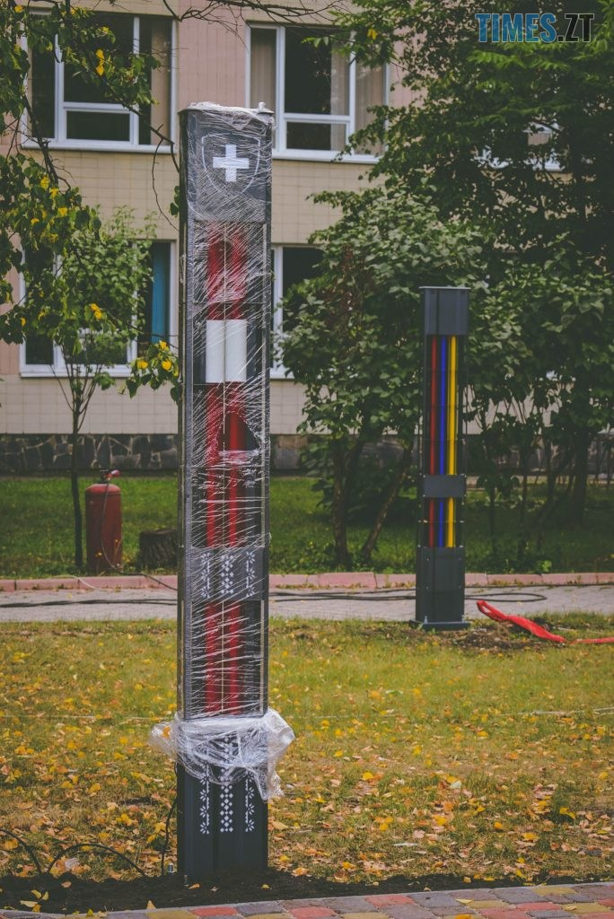DSC 0229 684x1024 - Незабаром «Житомирську політехніку» прикрасить «Ейфелева вежа» в українському стилі та світлове шоу (ФОТО)