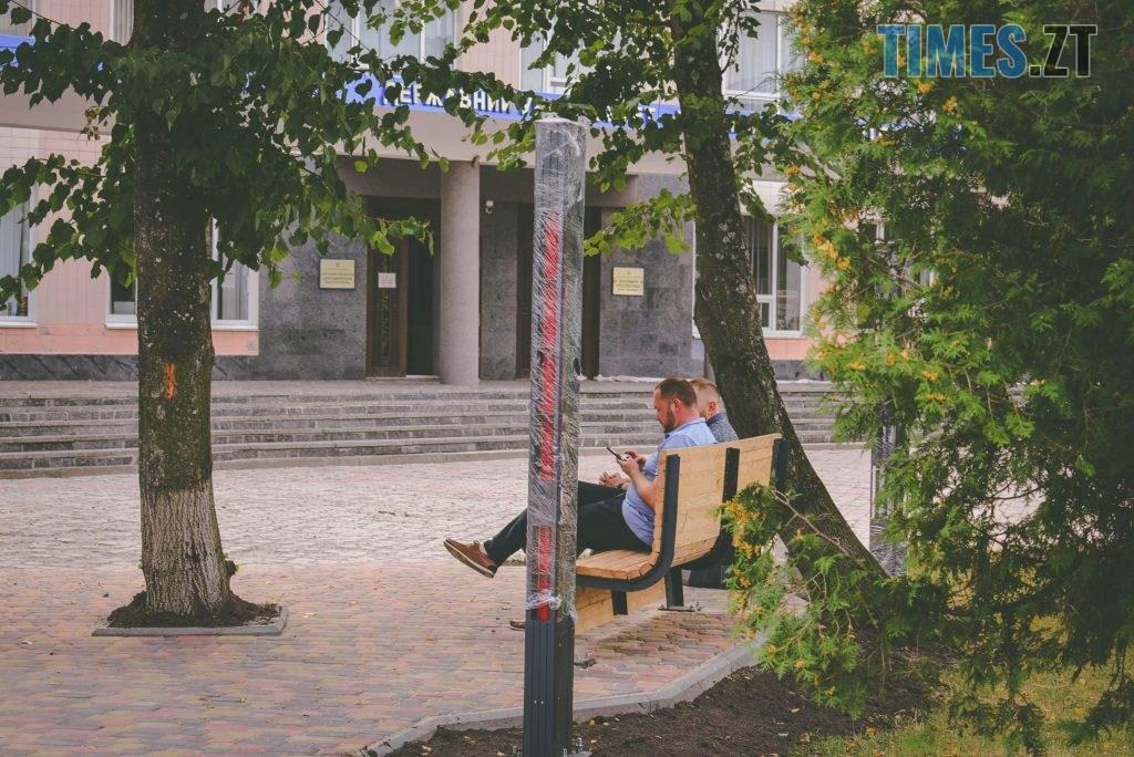 DSC 0241 1024x684 - Незабаром «Житомирську політехніку» прикрасить «Ейфелева вежа» в українському стилі та світлове шоу (ФОТО)