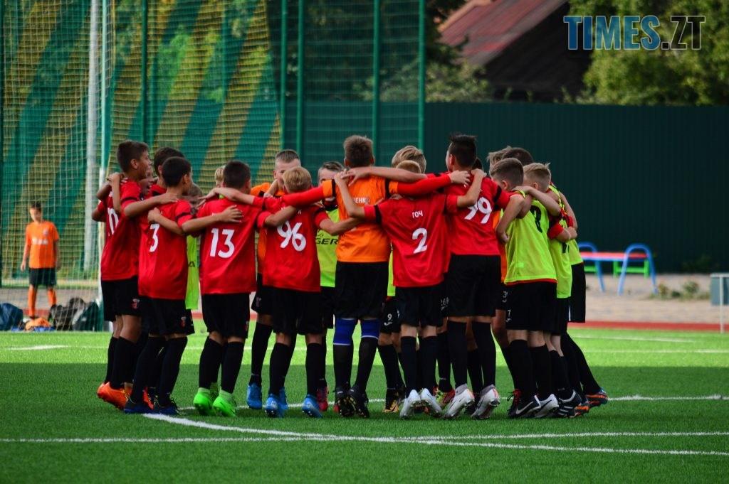 DSC 0310 1024x681 - Футбольний турнір U-12 пам'яті Дмитра Рудя у Житомирі виграв ФК «Шахтар» серією пенальті (ФОТО)