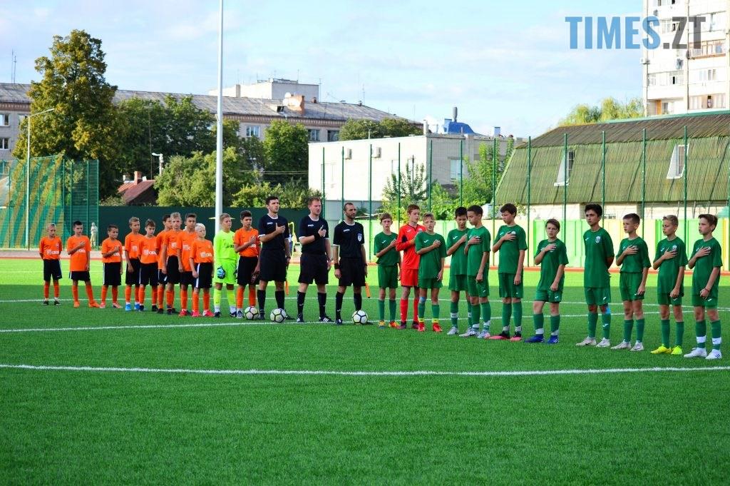 DSC 0316 1024x681 - Футбольний турнір U-12 пам'яті Дмитра Рудя у Житомирі виграв ФК «Шахтар» серією пенальті (ФОТО)