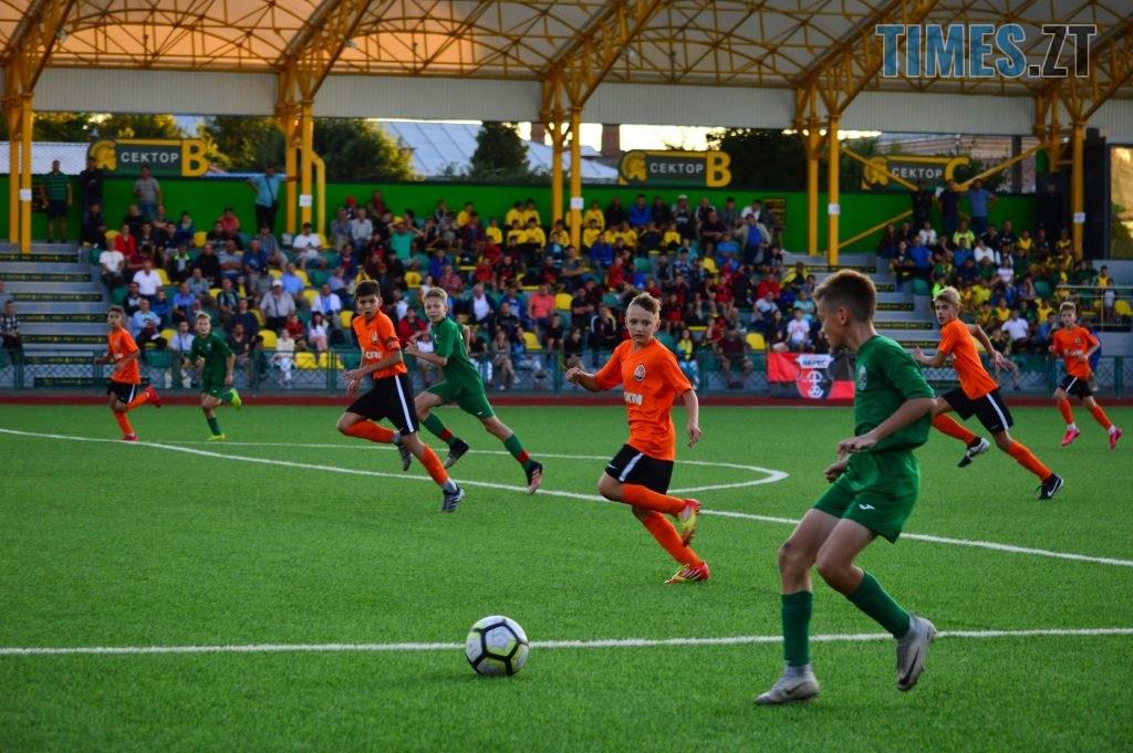DSC 0447 1024x681 - Футбольний турнір U-12 пам'яті Дмитра Рудя у Житомирі виграв ФК «Шахтар» серією пенальті (ФОТО)