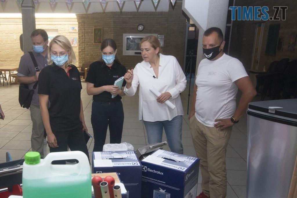 NSV 4923 1024x683 - Людмила Зубко: розпочався другий етап «Безпечної школи» - установка обладнання