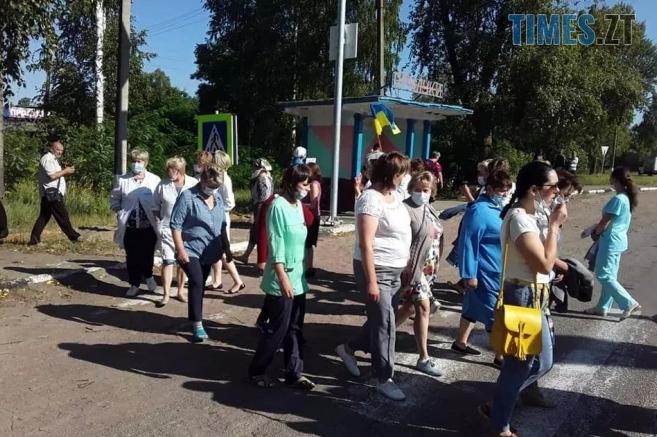 Screenshot 3 3 657x437 - В Овруцькому районі працівники психлікарні протестують проти закриття медичного закладу (ФОТО)
