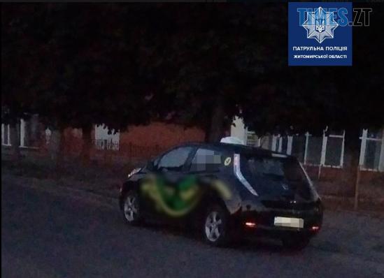 Screenshot 3 5 - У Житомирі за порушення правил дорожнього руху патрульні зупинили електроавтомобіль