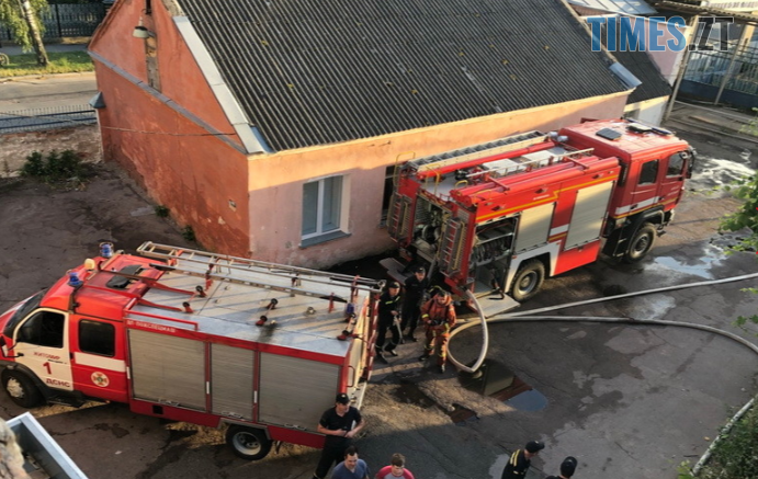 Screenshot 9 691x437 - У Житомирі на території колишнього хлібзаводу сталася пожежа
