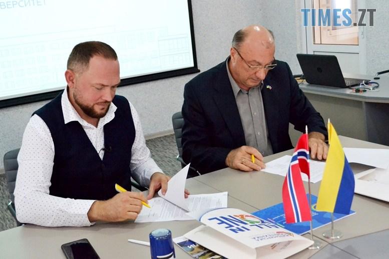 02 6 - Віктор Євдокимов: «Житомирська політехніка підписала угоду з Норвегією – навчатимемо АТОвців вести бізнес» (ВІДЕО)