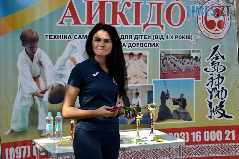 02 7 - У день жалоби за загиблими в АН-26 – мерія Житомира провела свято з танцями на пілоні (ФОТО)