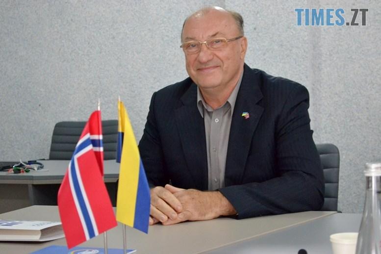 04 3 - Віктор Євдокимов: «Житомирська політехніка підписала угоду з Норвегією – навчатимемо АТОвців вести бізнес» (ВІДЕО)