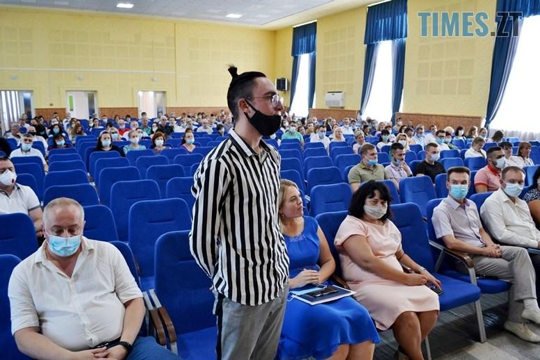 06 - Віктор Євдокимов: «Незважаючи на пандемію, до Житомирської політехніки вступили близько 2000 студентів» (ВІДЕО)