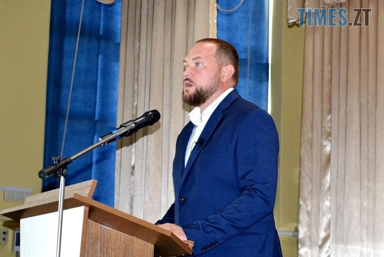 08 - Віктор Євдокимов: «Незважаючи на пандемію, до Житомирської політехніки вступили близько 2000 студентів» (ВІДЕО)