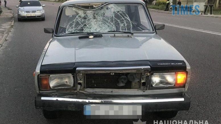10 10 04 777x437 - У Житомирській області 25-річний водій збив пішоходку, постраждала у лікарні (ФОТО)