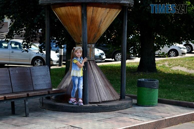 14 - «День житомирянина»: у місті працює лише один фонтан – там, де має «засвітитись» Сухомлин (ФОТО)