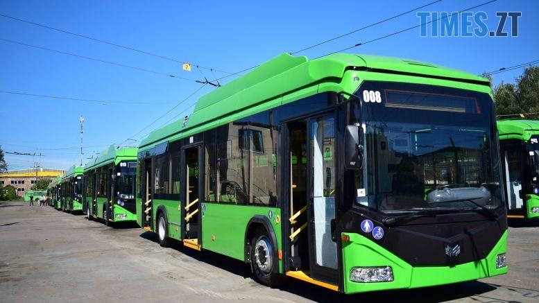 DSC 0306 777x437 - Житомирське ТТУ отримало ще 11 нових тролейбусів від Республіки Білорусь (ФОТО-ВІДЕО)