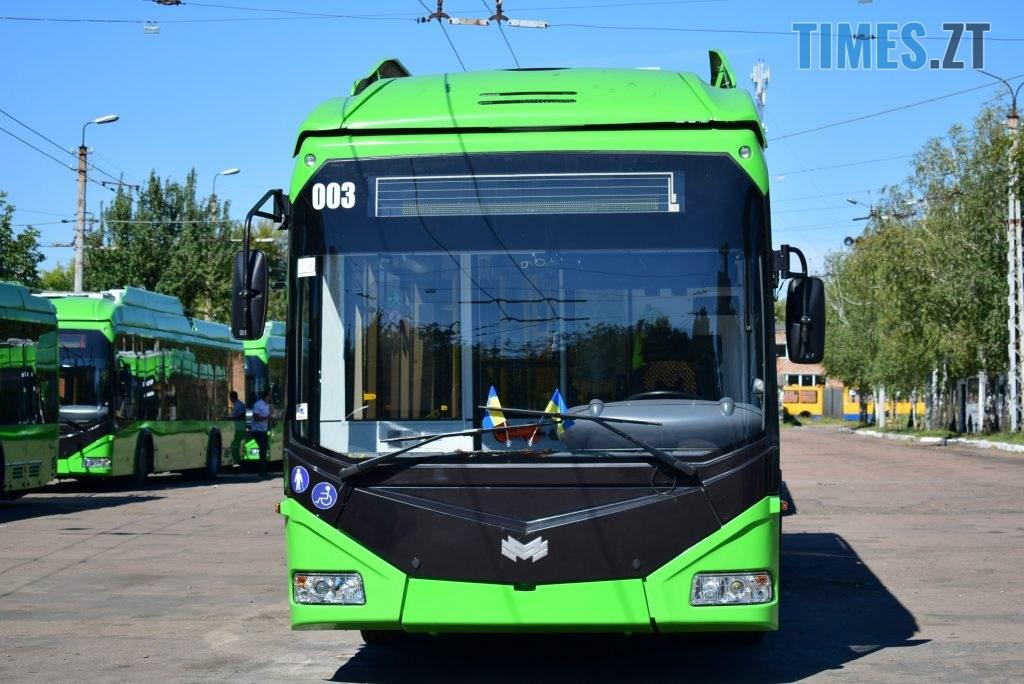 DSC 0313 1024x684 - Житомирське ТТУ отримало ще 11 нових тролейбусів від Республіки Білорусь (ФОТО-ВІДЕО)
