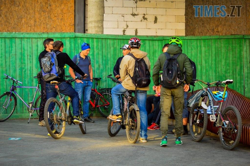 DSC 0345 1024x681 - «Обіцяного чекають 3 роки?»: поки міська влада бездіє, житомиряни самотужки підготували план розмітки для велосипедистів (ФОТО)