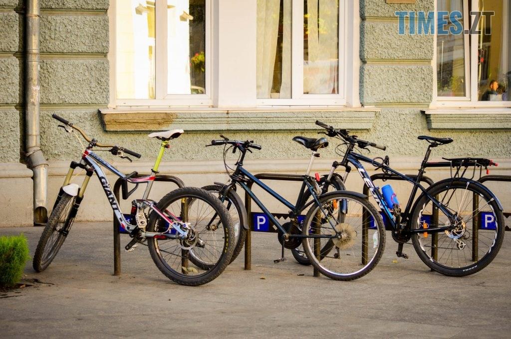 DSC 0369 1024x681 - «Обіцяного чекають 3 роки?»: поки міська влада бездіє, житомиряни самотужки підготували план розмітки для велосипедистів (ФОТО)