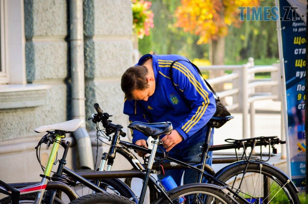 DSC 0388 1 1024x681 - «Обіцяного чекають 3 роки?»: поки міська влада бездіє, житомиряни самотужки підготували план розмітки для велосипедистів (ФОТО)